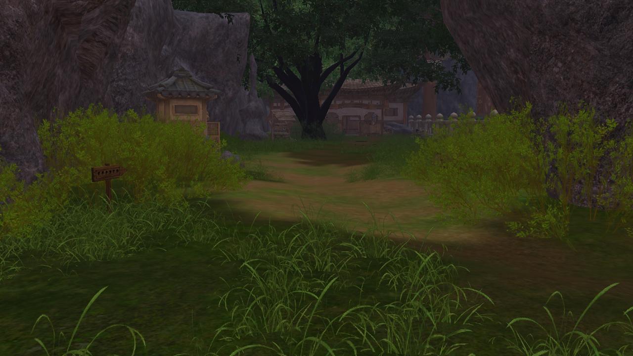 Imagem de uma paisagem vista da casa de Uriel